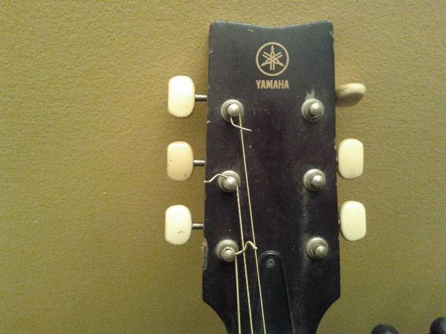 yamaha fg 75 acoustic guitar
